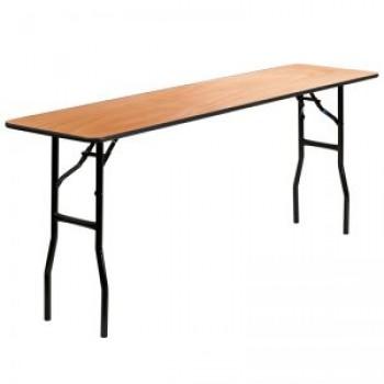 Banquet 1.70x0.45μ τραπέζια